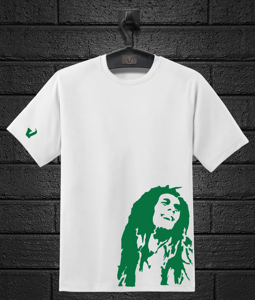 f0db779378ce30 Bob Marley T-Shirt - V3 Creatives